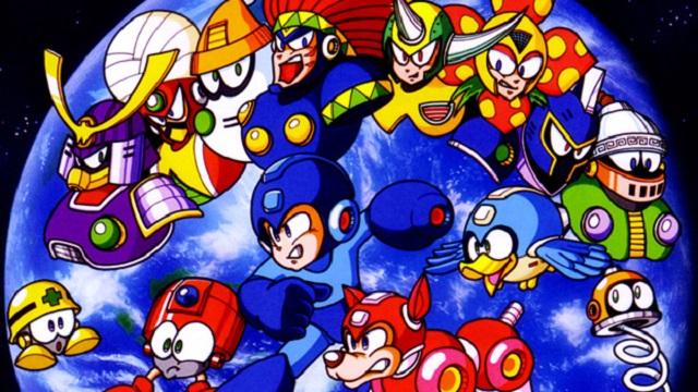 MegaMan6 bosses
