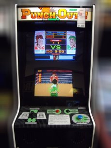punch out arcade
